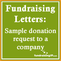 Sample Donation Request Letter To A Company  Fundraising