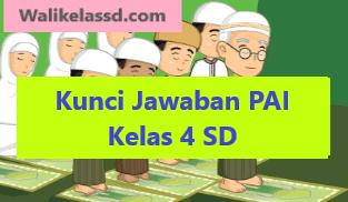 Kunci Jawaban Pendidikan Agama Islam Pai Kelas 4 Kurikulum Pendidikan Agama