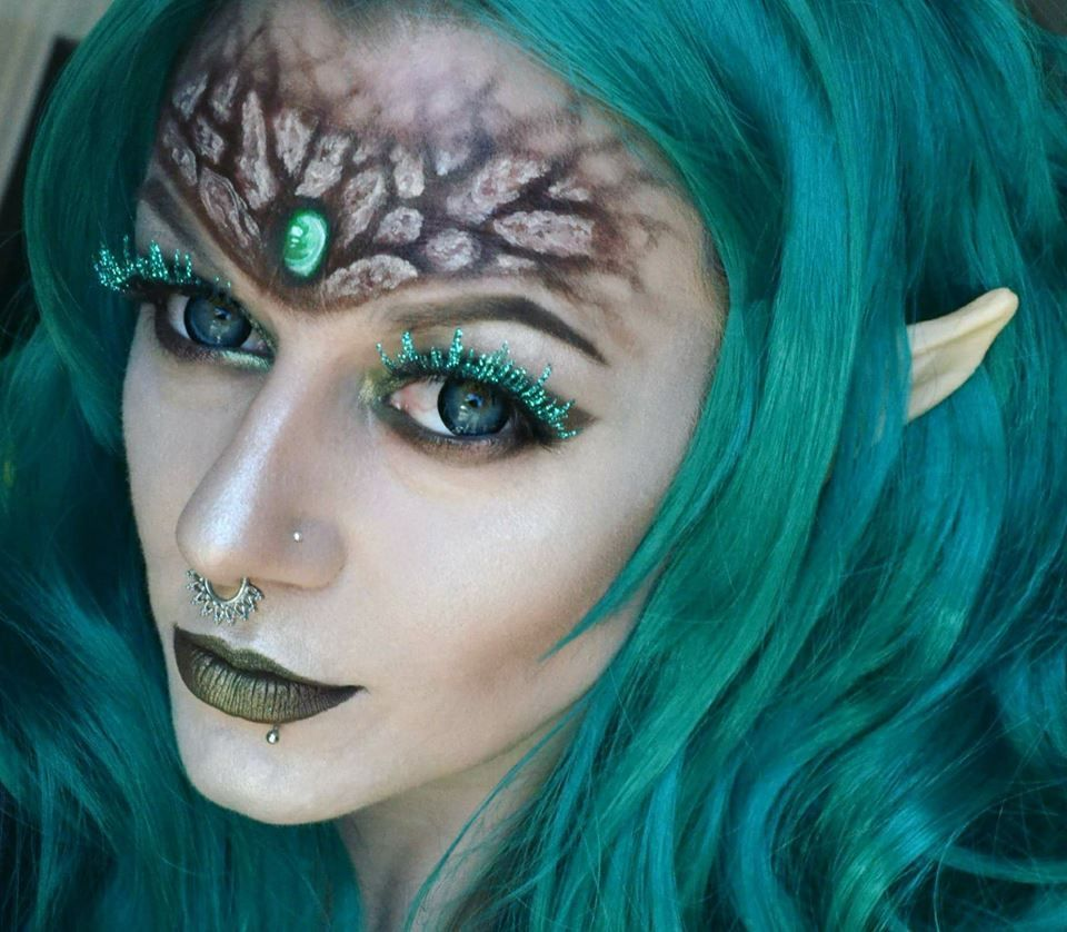 Wood elf forest fairy makeup fairymakeupideas (With