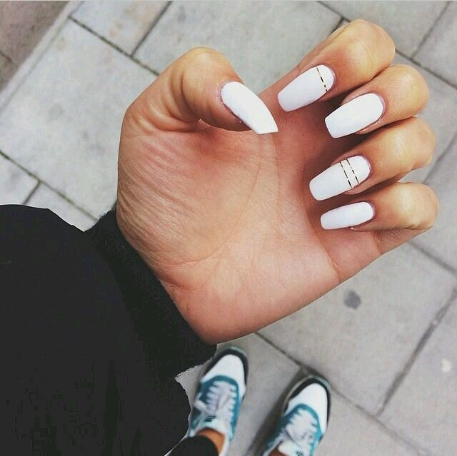 Pinterest D A N A Claws Personal White Acrylic