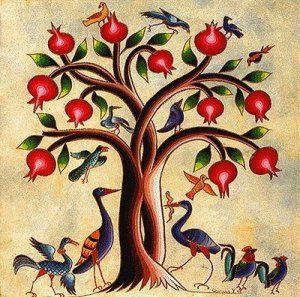 4. lunarni dan: Rajsko drvo