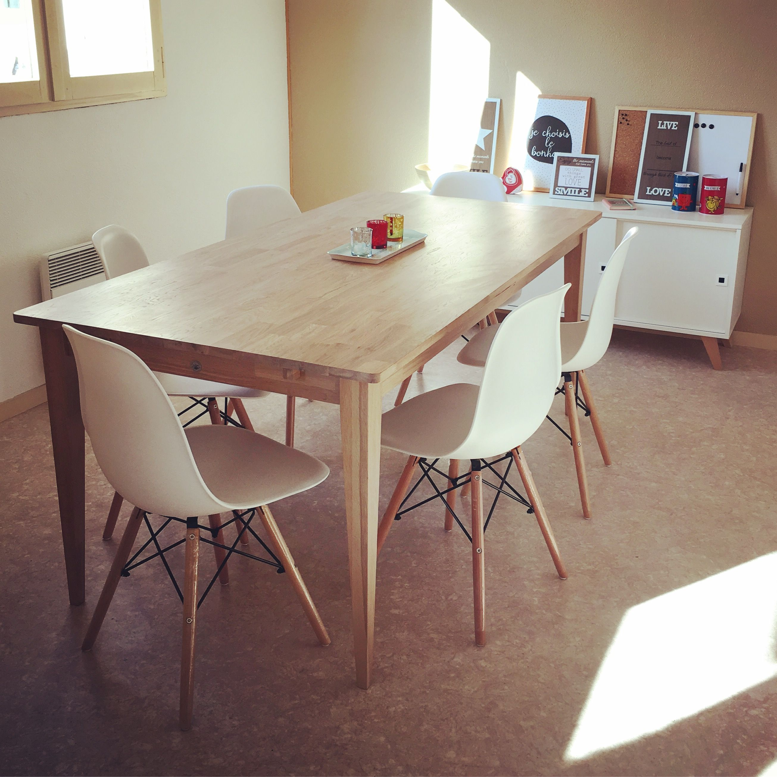 salle a manger chaises amazone table