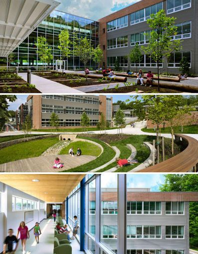 Good Sustainable Schools: 14 Smart Green Learning Facilities | WebEcoist Good Ideas