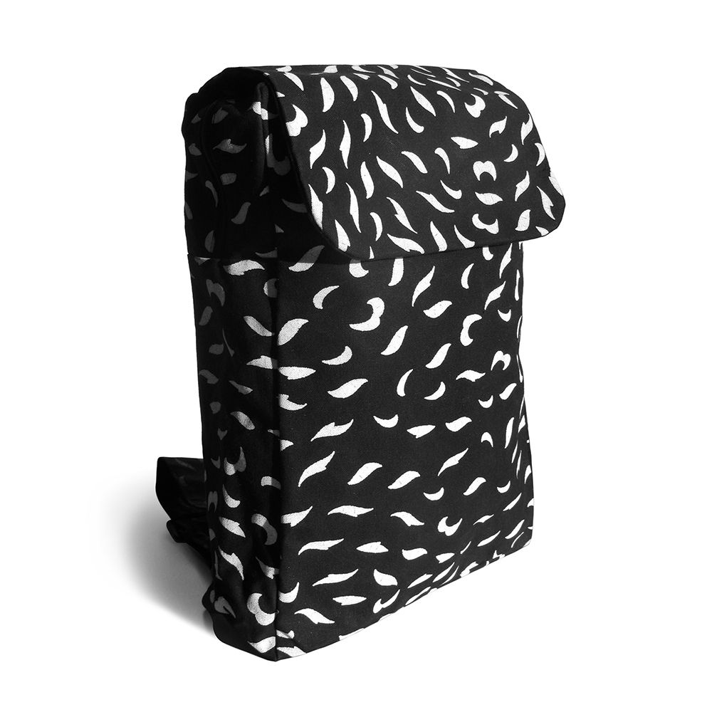 Bespoke Atelier Backpack (Black/White)