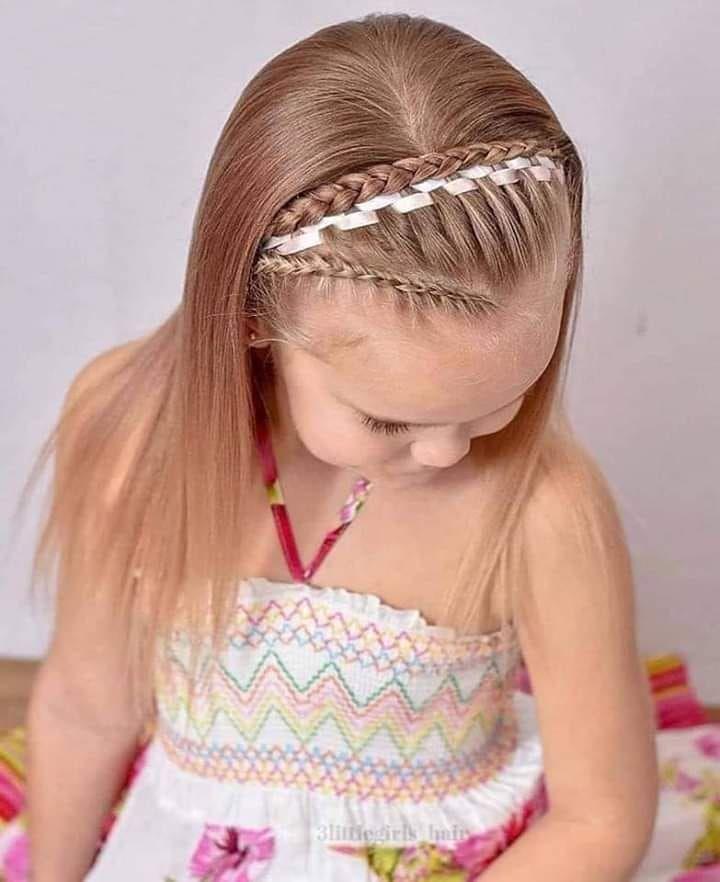 """Beautifull &Amp; Fashion On Instagram: """"Peinados Y Trenzas Para Niñas 🥰 🤗 😍Fashion Belleza Princesas Hairstyles"""" Trenzas - Hair Beauty"""
