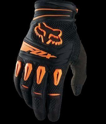 Fox Racing Pawtector Glove Dirt Bike Motocross Gear Orange New Sizes M L 2xl Dirt Bike Gear Motocross Gear Racing Gear