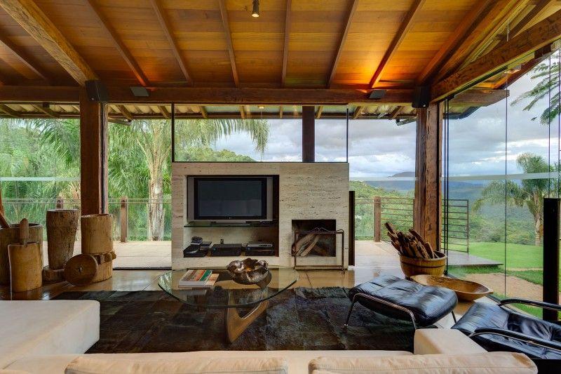interiores de casas de campo buscar con google