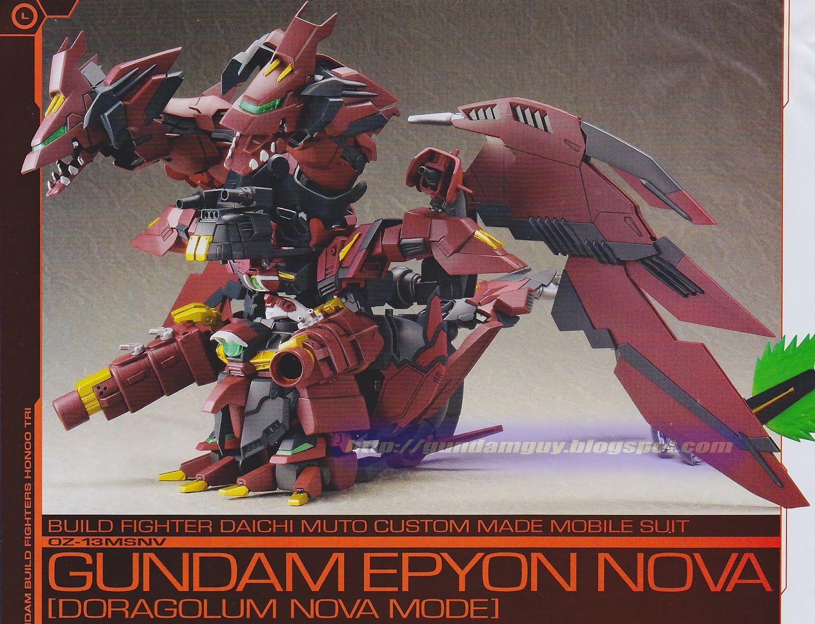 Diagram Gundam Guy Gundam Epyon Nova Doragolum Nova Mode