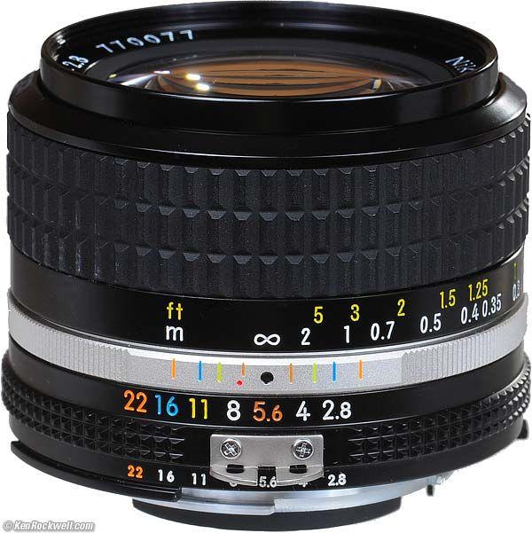 Nikon 24mm F 2 8 Ai S Vintage Lenses Classic Camera Camera Nikon
