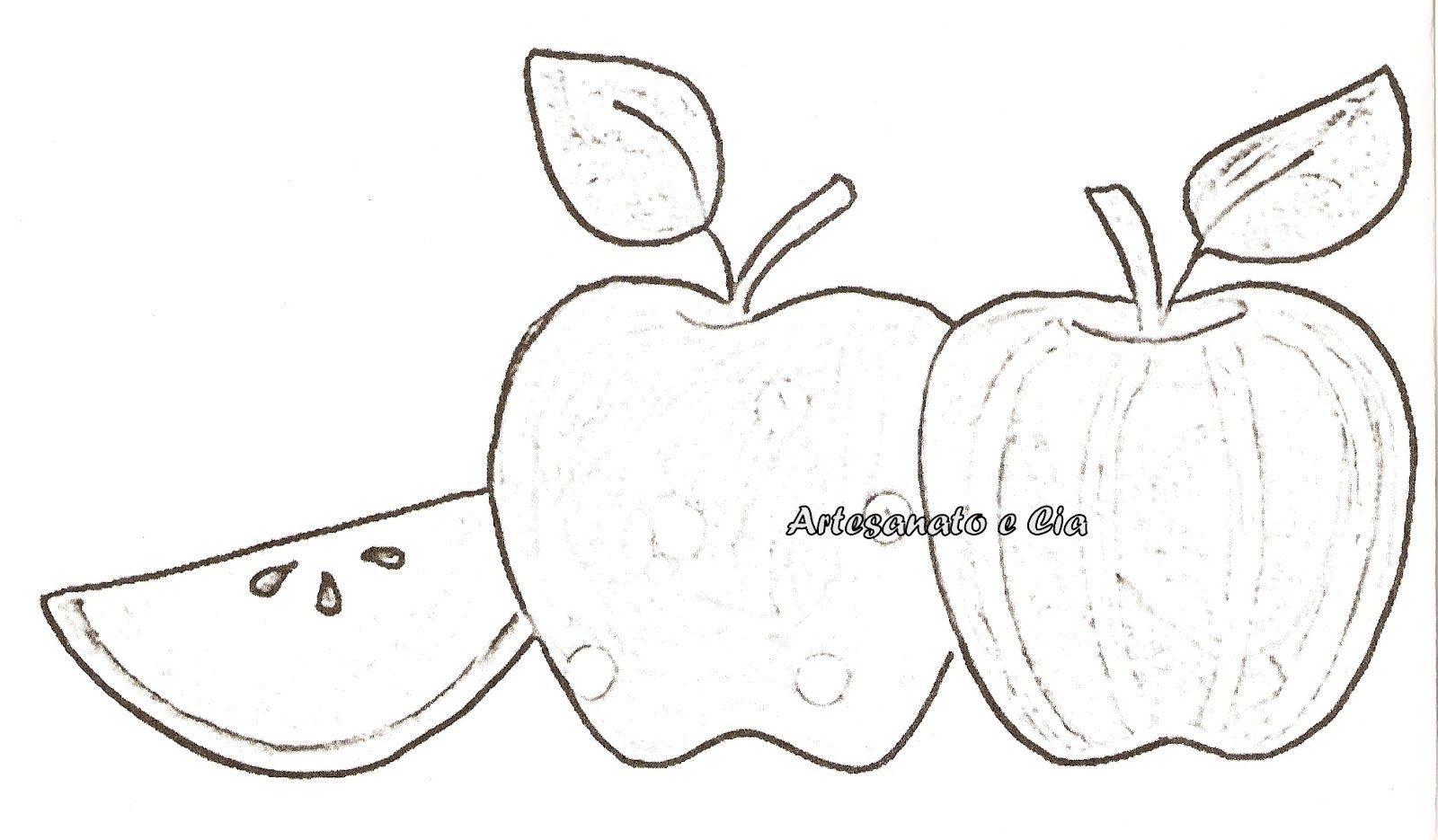 Moldes de frutas para patchwork aplique | Aplicaciones de frutas ...