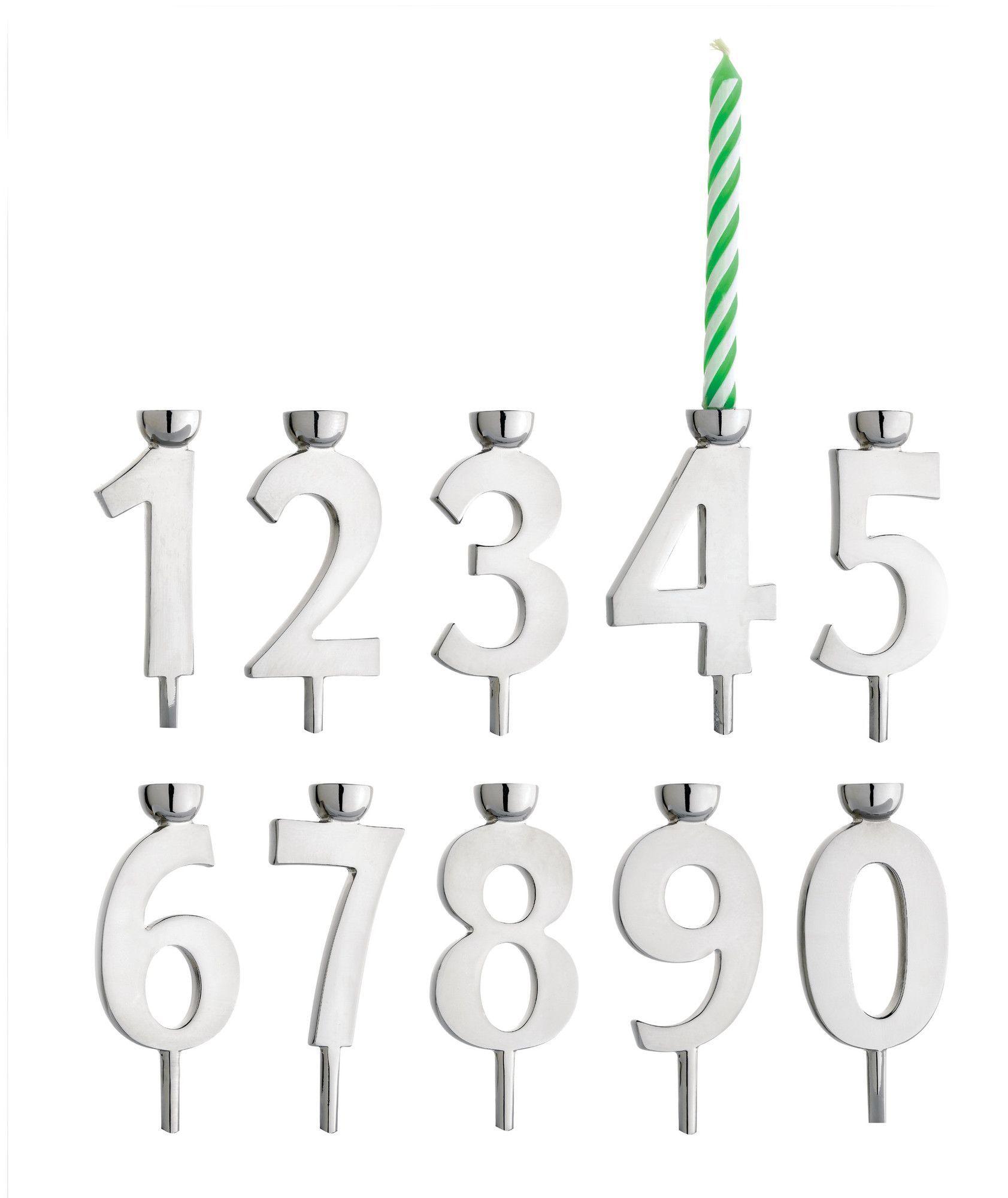 Lets Celebrate 34 Piece Metal Candlestick Set