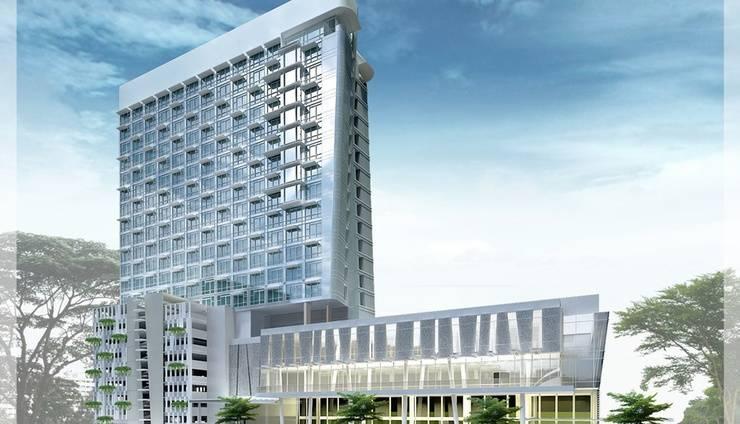 Harga Kamar Hotel Santika Premiere Hayam Wuruk Jakarta Jakarta Idnhotel Com Hotel Building Exterior Hotel Price
