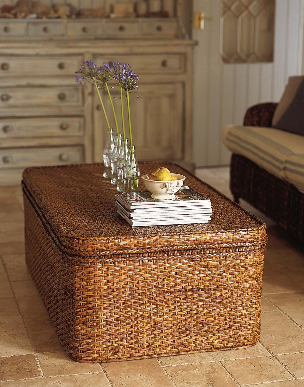 Wicker Chest Google Search Wicker Coffee Table Rattan Coffee Table Coffee Table Trunk Wicker coffee table with storage