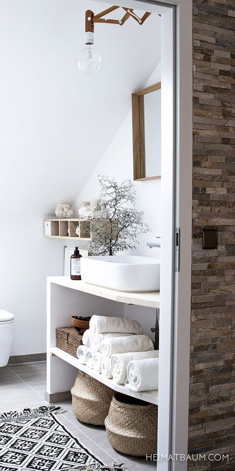 Amazing Small Bathroom Storage Ideas on a Budget | Apartment ...