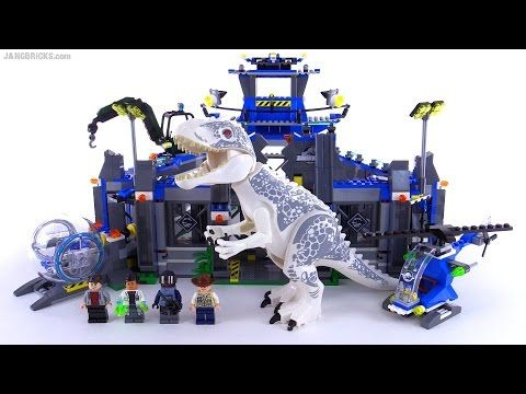 lego raptor rampage instructions