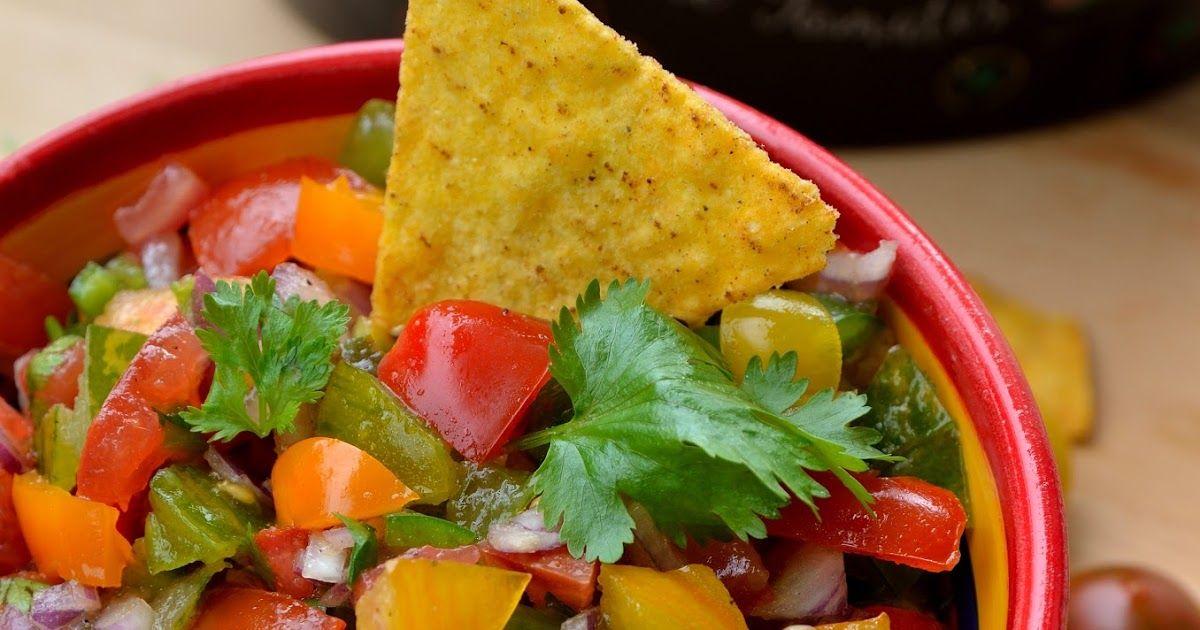 Pico de gallo, salade mexicaine
