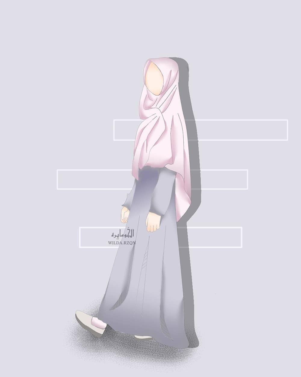 Pin Oleh Veni Jumila Danin Di Muslim Art Kartun Gadis Animasi Fotografi Remaja