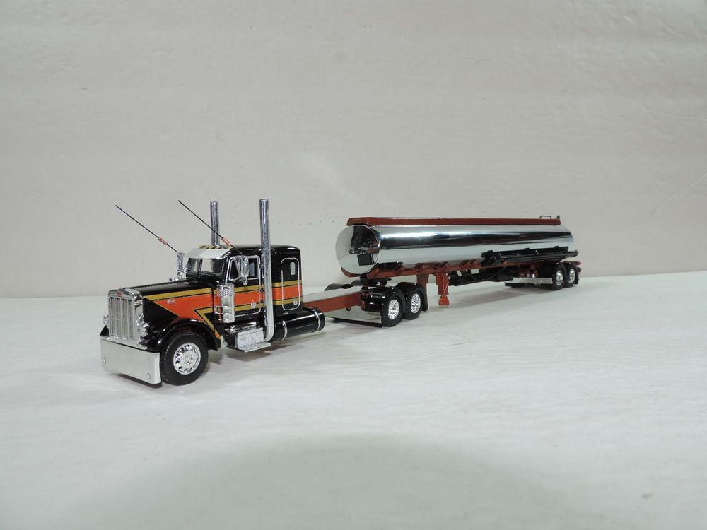 Dcp Custom Stretched Frame Peterbilt 379 36 W Custom Painted Fuel