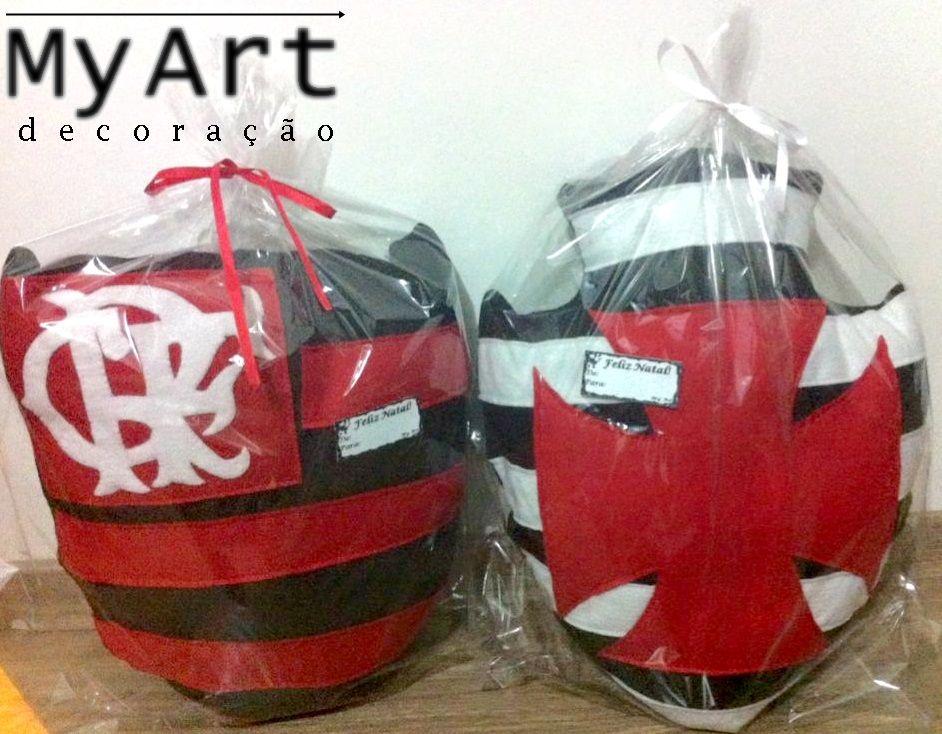 aa39a1536c Almofada de Feltro - Flamengo e Vasco