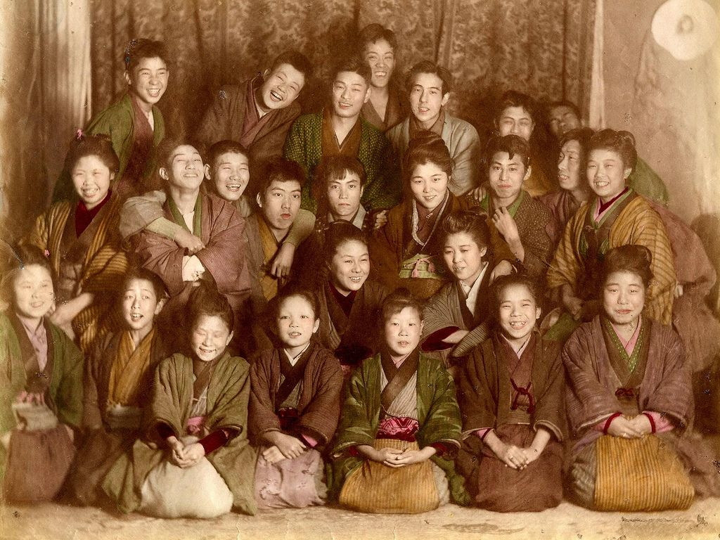 Smiles of Old Japan 3 c.1890-96 - [ Learn Japanese Words with Pinterest by webjapanese.com ]