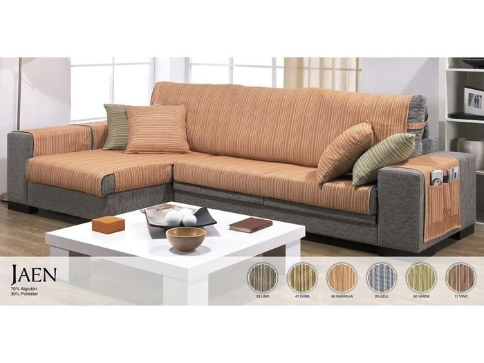 Funda de sofa chaise longue jaen sabor a hogar sof - Funda de sofa chaise longue ...