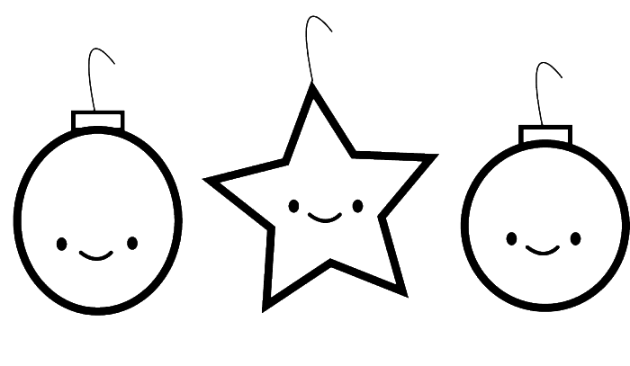 Christmas Ornament That Is Interesting And Funny A Star Colori Christmas Ornament Coloring Page Printable Christmas Coloring Pages Christmas Tree Coloring Page