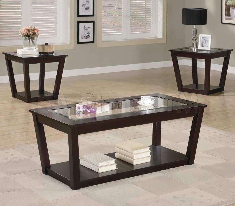 Java Espresso 3 Pc Coffee Table Set Coffee Table Standard Furniture Living Room Coffee Table [ 799 x 1015 Pixel ]