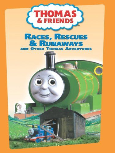 Thomas  Friends Races Rescues  Runaways And Other Thomas Adventures * Continue to the product at the image link.