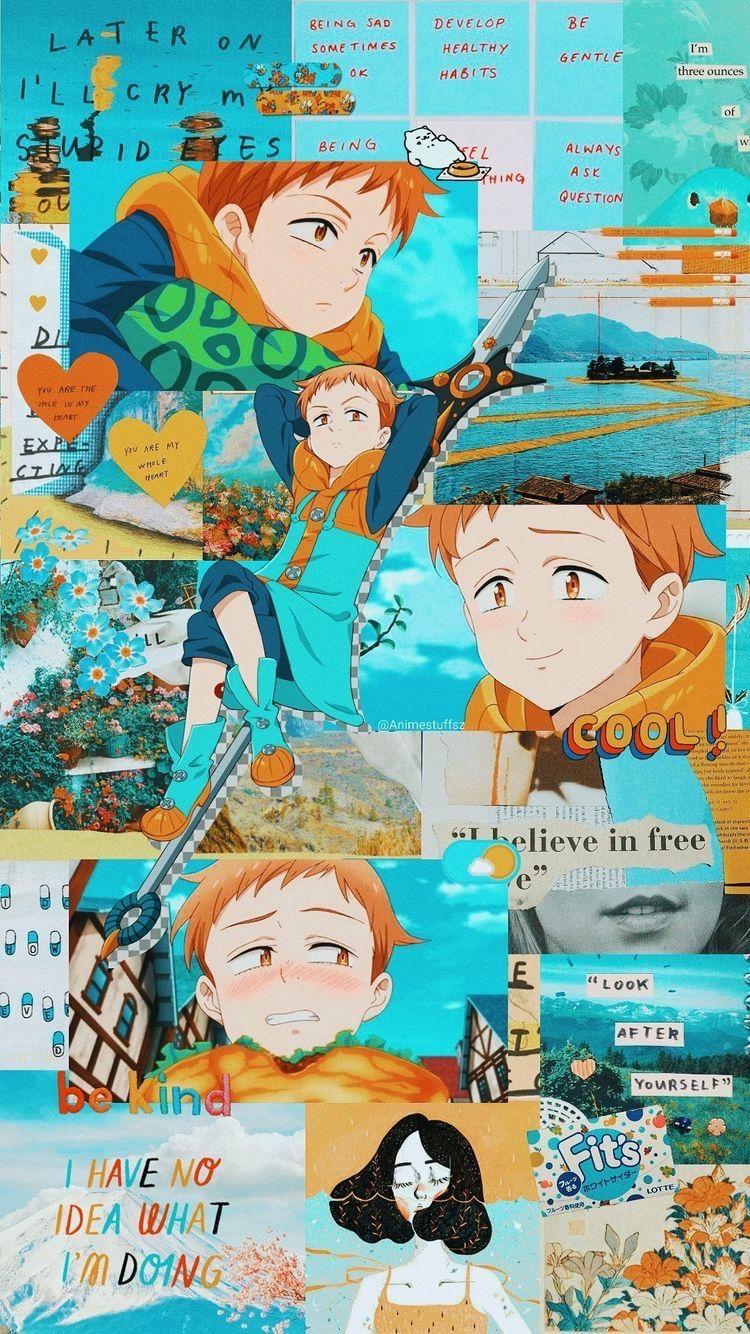 Pin By Kirami On Seven Deadly Sings 3 In 2020 Cute Anime Wallpaper Anime Wallpaper Seven Deadly Sins Anime