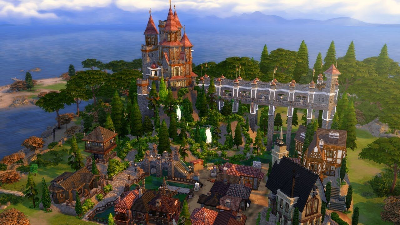 Castlehold The Sims 4 Speed Build (With images) Sims 4