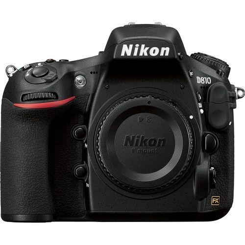 VBA410AE Nikon D810 Nikon D810 Kamerahus med 36,3 MP, 5bps, EXPEED 4 sensor