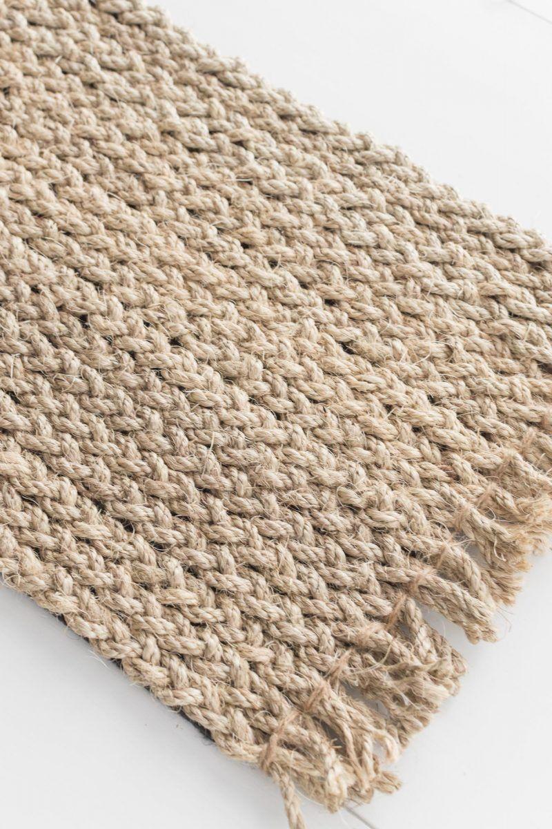 DIY no-sew braided rope rug   Rope rug, Braided rug diy ...