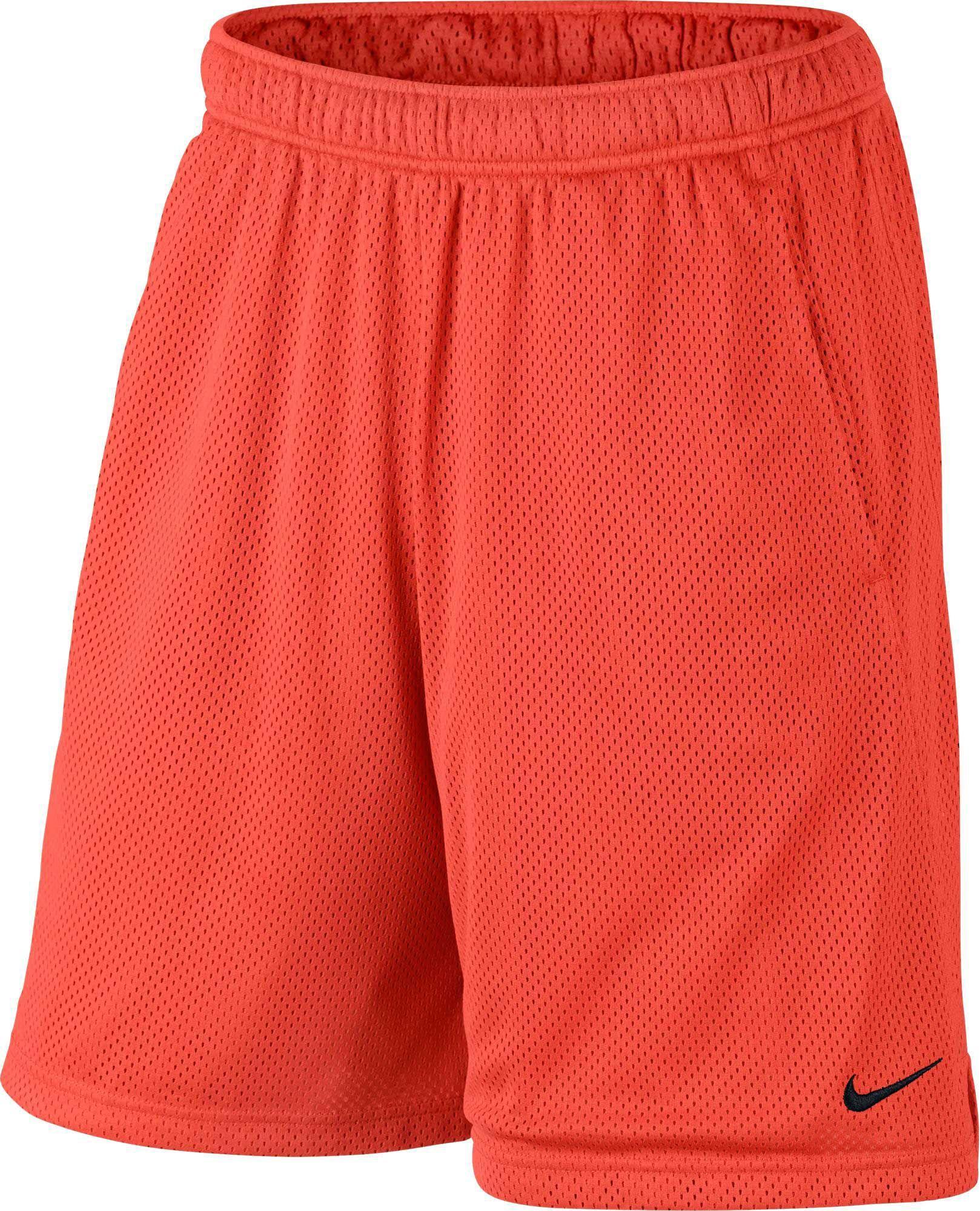 ac82f631b6 Nike Men's 9'' Dry Monster Mesh Shorts, Size: Medium, Max Orange/Black