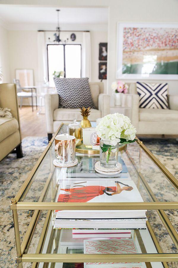 Home Makeover: A Bright U0026 Airy Blue Themed Living Room