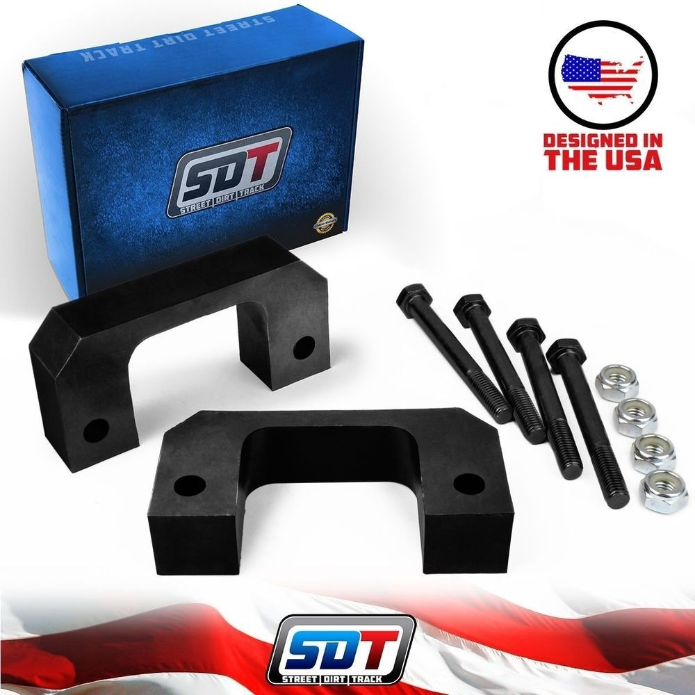 2  Front Leveling lift kit Chevy Silverado 2007 2018 GMC Sierra GM     2  Front Leveling lift kit Chevy Silverado 2007 2017 GMC Sierra GM 1500 2WD