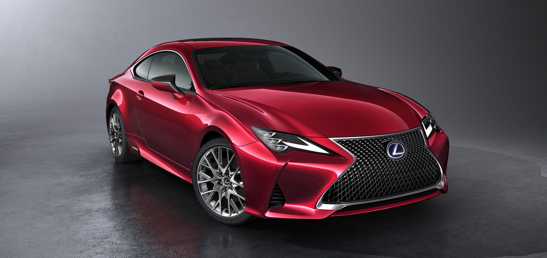 2019 Lexus Rc Debuts In Paris With Hot Lc Inspired Looks Lexus