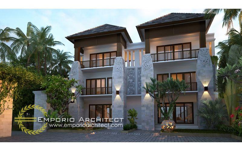 Jasa Arsitek Desain Rumah Villa Mewah Emporio Architect Arsitek Rumah Halaman Arsitektur