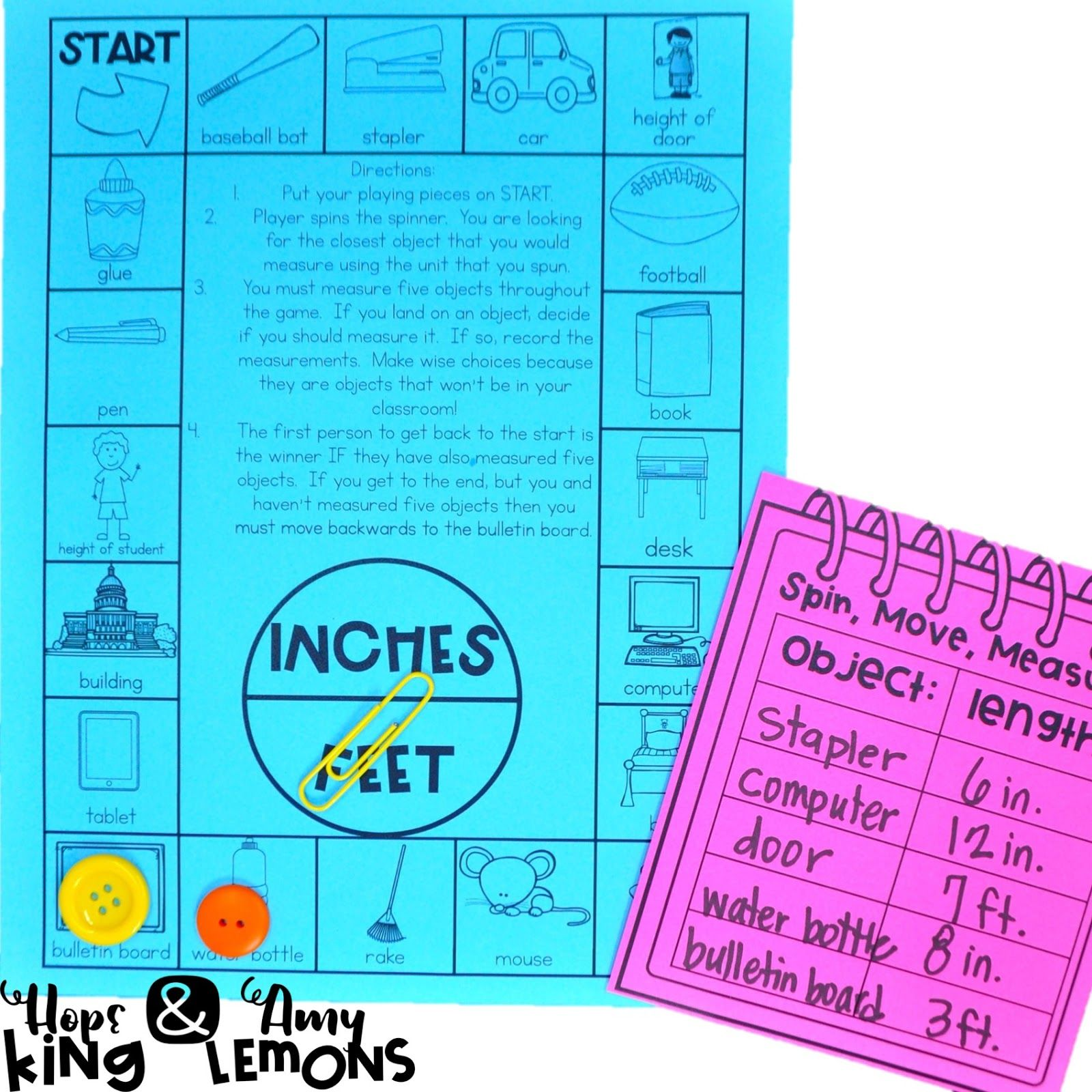 Measurement Activities And A New Freebie