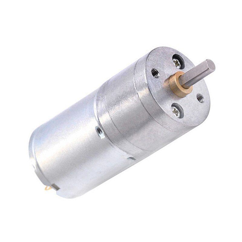 Cnmaway Jga25 370 Dc Motor 6v 12v High Torque Electric Gear Motor Jga25 370 Motor Geared High Torque Electric Gear 5 10 15 30 60 100 Gears Electricity Motor