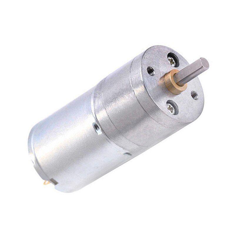 Cnmaway Jga25 370 Dc Motor 6v 12v High Torque Electric Gear Motor Jga25 370 Motor Geared High Torque Electric Gear 5 10 15 30 60 100 Gears Electricity Motor