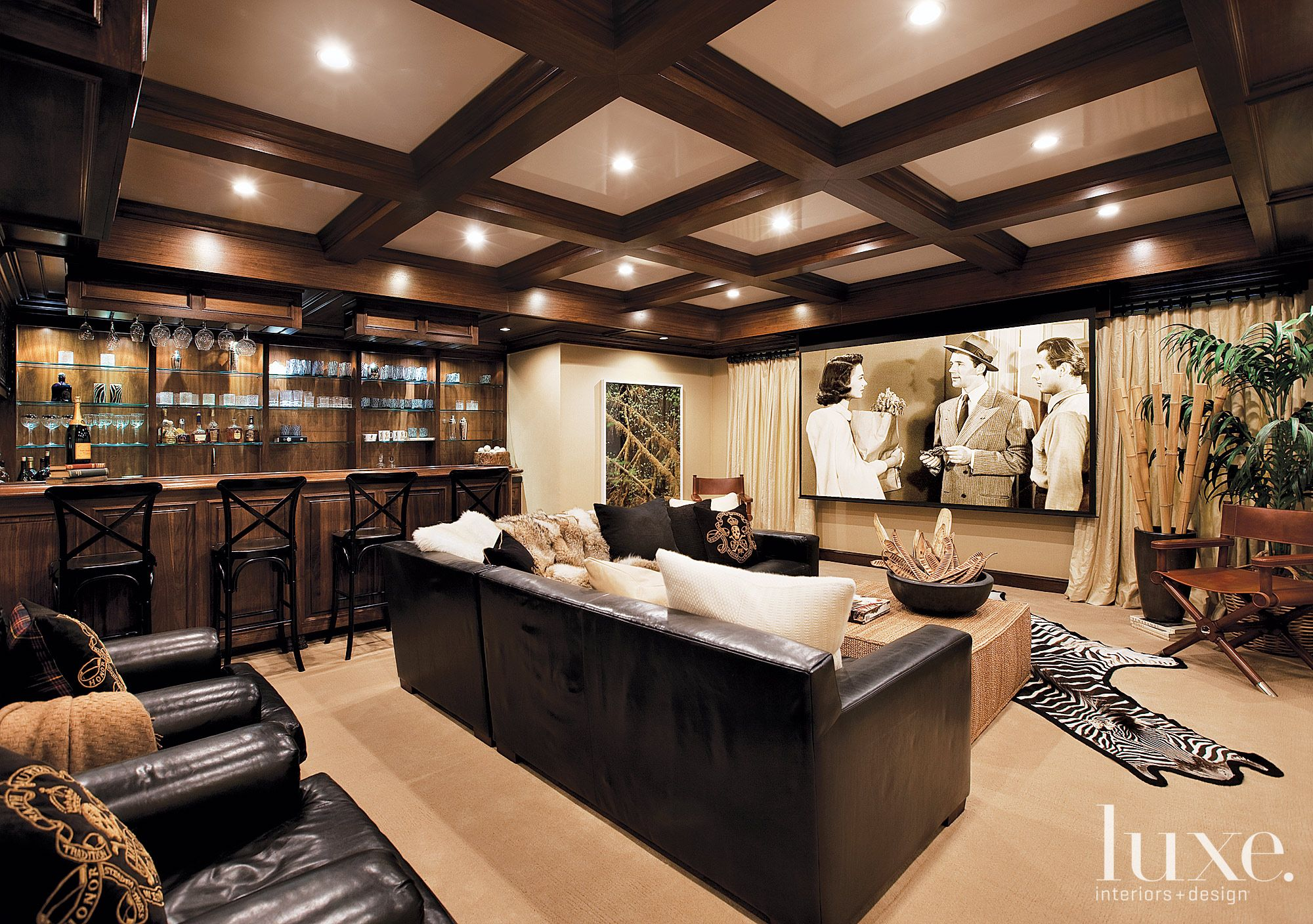 Luxe California | Man Cave Ideas | Pinterest