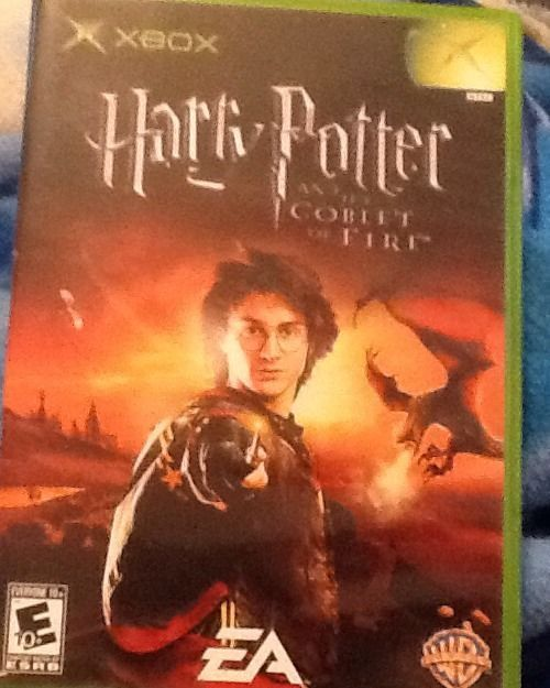 Harry Potter And The Goblet Of Fire Xbox 2005 Goblet Of Fire