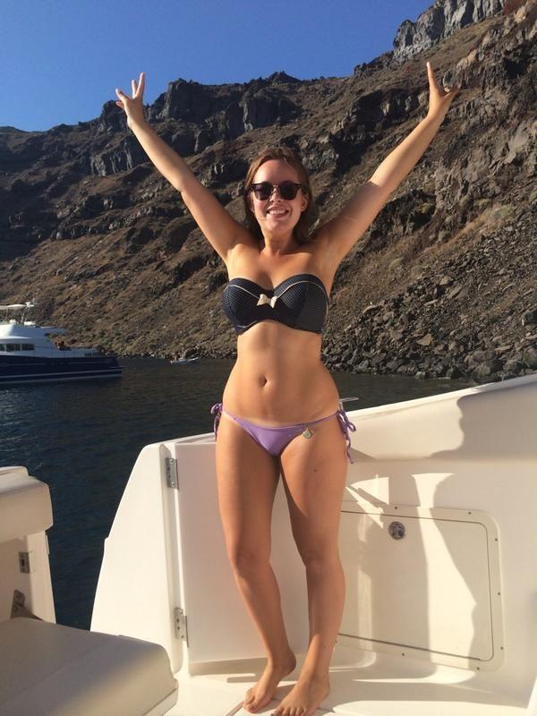 Tanya Burr Bikini nude 921
