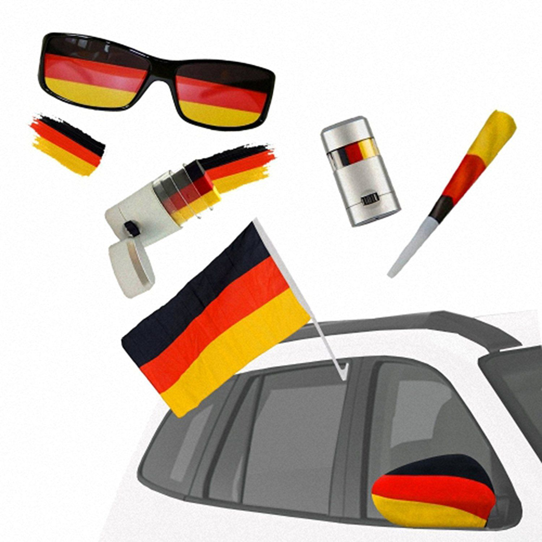 Fan Set Fanartikel Deutschland Fussball Wm Weltmeisterschaft