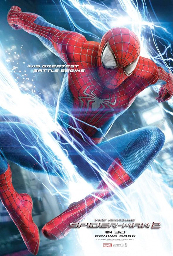 Amazing Spider Man 2 Posters Revealed Spiderman The