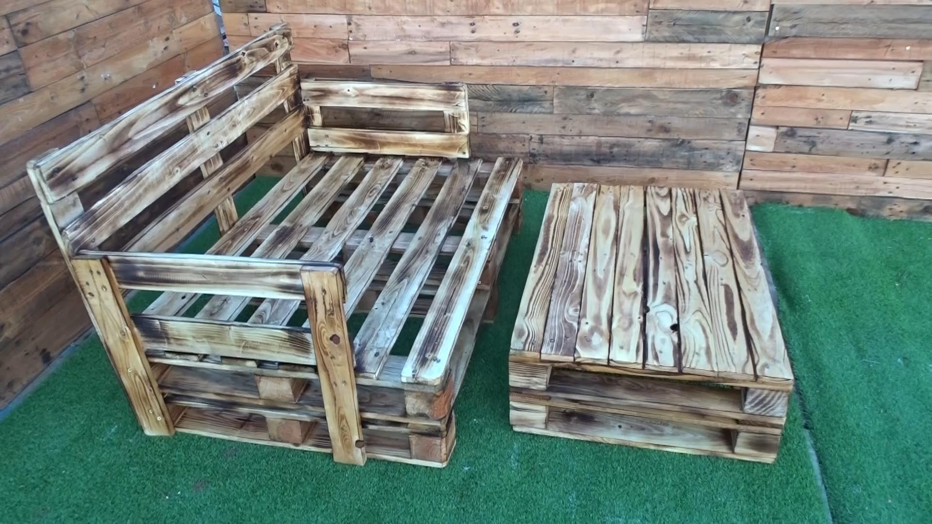 Sofas de palets – Sillones de palets