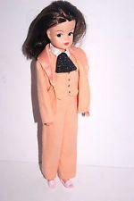 Rare Pedigree Sindy Doll Brunette Hair Blue Eyes & Outfit VGC 033055X