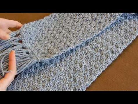 Crochet Scarf Tutorial Easy Elegant And Simple Beginner Level