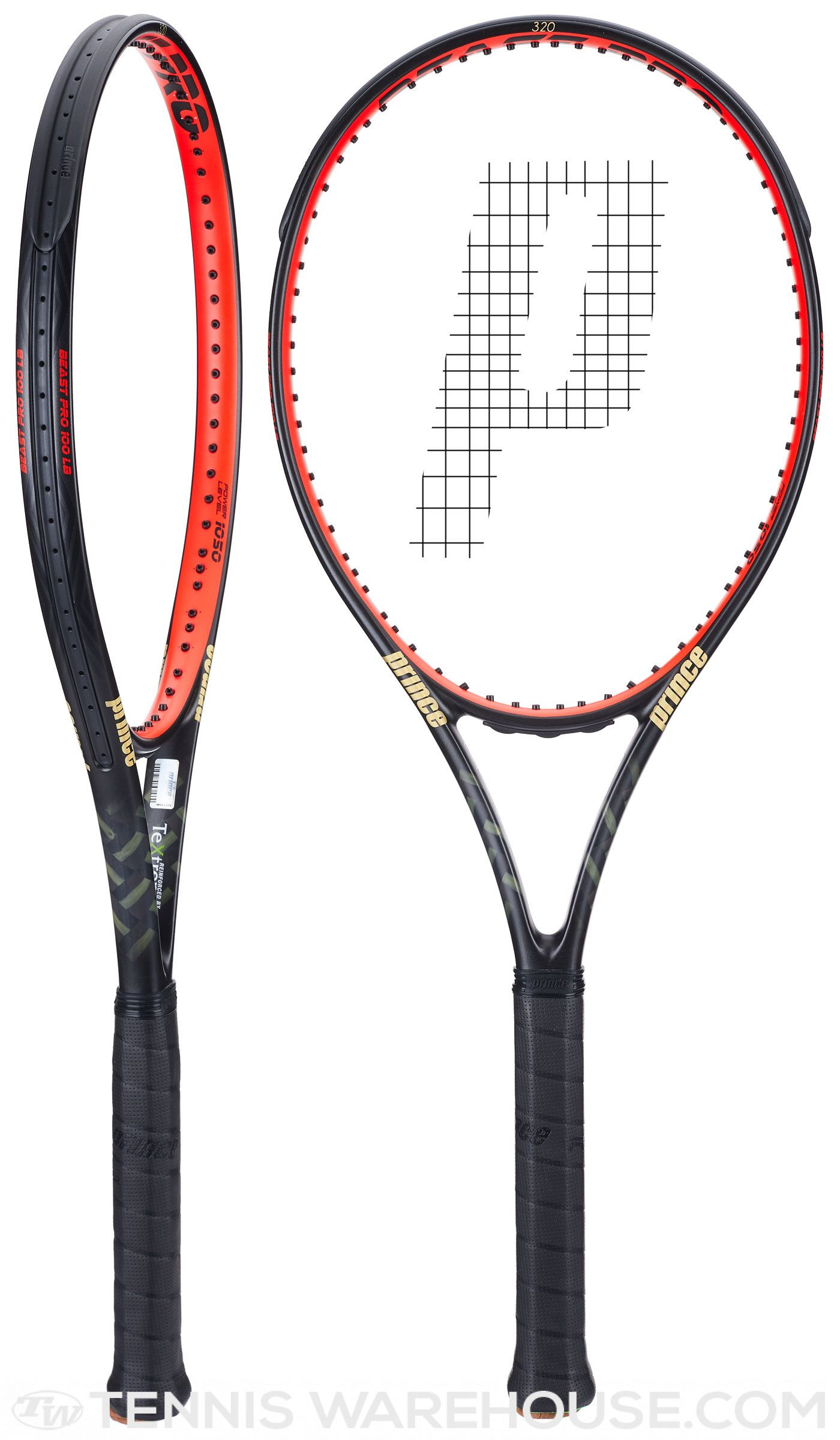 Check Out The Racquet Endorsed By John Isner Prince Textreme Beast Pro 100 Lb Racquet Racquets Tennis Equipment Tennis Racquet