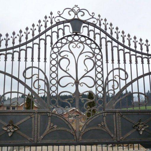 brána 12014  ,forged gate ,kovacstvo loksik